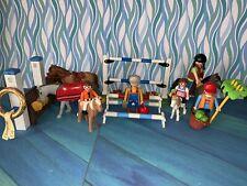 Lot Equitation Playmobil