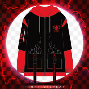 Fate/Grand Order Arturia Pendragon Saber Alter Hoodie Anime Cosplay Jacket Coat