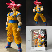 Dragon Ball Z Super Saiyan God Son Gokou Figure S.H Figuarts Anime Toy In Box