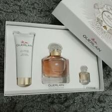 Mon Guerlain by Guerlain  3 Piece Gift Set for Women 3.4 oz Eau De Parfum New