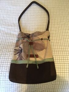 Nancybird Leather Tote Bag