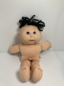 Vintage 1991 Cabbage Patch Kids Baby Black Hair No Clothes