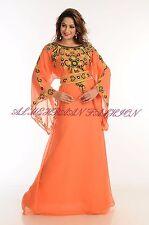 LOWEST DUBAI FARASHA FANCY PARTY WEAR KAFTAN ABAYA COCKTAIL DRESS 538