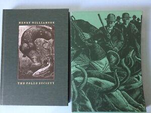Folio Society. Tarka the Otter by Henry Williamson. Illustrater C F Tunnicliffe