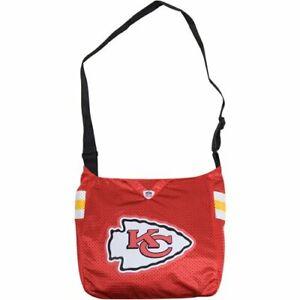 NFL Kansas City Chiefs Jersey Tote Bag Shoulder Bag