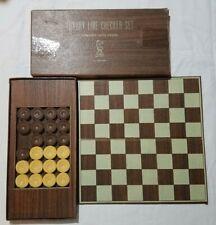 vintage luxury line checker set by Drueke