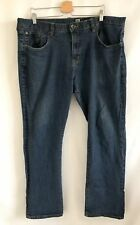 Marc Ecko Cut & Sew Mens Straight Leg Jeans Size 40 Medium Dark Wash