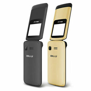 "BLU Zoey Flex Z131 1.8"" Cell Phone Flip VGA Bluetooth GSM Unlocked Dual SIM NEW"