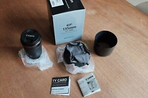 Canon EF 135mm f/2.0 L USM - Portrait Lens