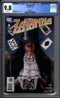 Zatanna 5 CGC Graded 9.8 NM/MT Brian Bolland 1:10 Variant DC Comics 2010