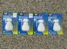 Lot Of *4* New Sink Faucet Swing & Spray Swivel Aerator Attachments Plumb Craft