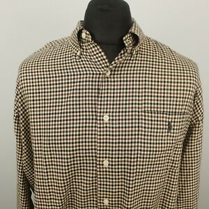 Ralph Lauren Mens Vintage THICK Shirt 2XL Classic Fit RELAXED OVERSIZED McMeel