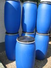 120 Liter Wassertonne Regenwassertonne Kunststofffass 9 Stück verfügbar