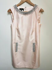 TED BAKER crystal embellished Aline tunic shift dress wedding party vintage 2 10