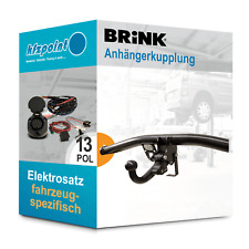 Für Mercedes A-Klasse 04- BRINK Anhängerkupplung abnehmbar + 13polig E-Satz AHK
