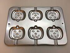 Wilton Pumpkin Cookie Cake Pop Baking Treat Pan Halloween Jack o' Lantern