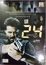 24 Season 2 - Anil Kapoor - 2016 Hindi TV Series 6 DVD Pack / Region Free / Subt