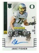 2015 Panini Contenders Draft Picks #269 Jake Fisher RC Auto Oregon Ducks
