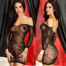 Sexy Lingerie Fishnet Body stockings Dress Underwear Babydoll Sleepwear NYW076