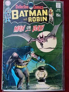 Detective comics #402 2nd app of Man-Bat❗1st app of Francine langstrom (She-Bat)