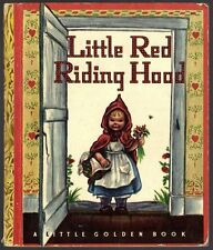 Vintage Children's Little Golden Book LITTLE RED RIDING HOOD WINE Edition
