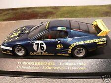 1/43 IXO Ferrari BB512 #76 Le Mans 1980