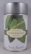 TEA Fortè MOROCCAN MINT latta 120g Tè Verde e Menta del Marocco green tea