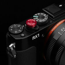 Gariz Soft Release Button XA-SBA3S for Sony RX1 Red