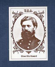 #36 MAJ. GEN. Oliver Otis Howard, USA ~ 1979 Famous Civil War Generals