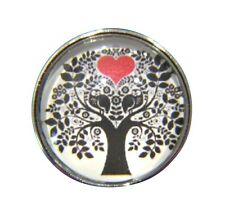 Noosa Style Chunks Snap Button Charms Chunk Charm Snaps Tree Of Life Heart 18mm