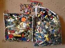 LEGO 2 Pound Bulk Lot +2 Minifigures Star Wars Friends Superheroes City Bionicle