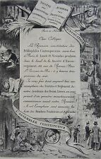 Ewert Louis VAN MUYDEN (1853-1922): Societe des bibliophiles contemporains,
