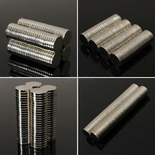 50Pcs Size 8x1mm Neodymium Disc Super Strong Rare-Earth N52 Small Fridge Magnets