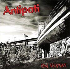 ANTIPATI - ON REPEAT CD OI STRRET PUNK SKIN AGENT BULLDOGG SABOTAGE PERKELE