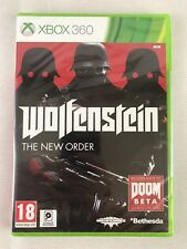 Xbox 360 Wolfenstein The New Order, Brand New & Factory Sealed, Dented