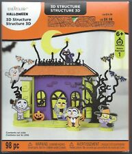 Creatology Halloween Haunted Mansion 3D Foam Structure 98 Pieces Ages 6+  NIB