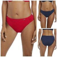 Fantasie Swimwear Marseille Classic Fold Brief Bottoms Pant 6695 Sunset Red
