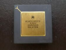 1X MOTOROLA MC6802 ORC25E QQXW9850 VINTAGE CERAMIC CPU FOR GOLD SCRAP RECOVERY