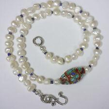 Echtschmuck-Halsketten & -Anhänger im Collier-Stil mit Lapis Lazuli-für Damen