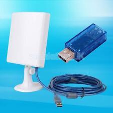 Long Range USB 150Mbps Waterproof Wifi Wireless Adapter +Booster Outdoor