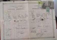 GREECE GREEK OLD 1926 PASSPORT PASSEPORT
