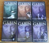 DVD  Lot de 6 Films spécial collection de Jean Gabin