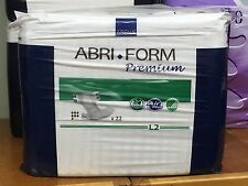 Abena Abri-Form Pack of 22 HIGH ABSORBENCY Briefs, Adult Diapers, Large , #43065