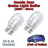 (07-14) Honda Jazz Brake Light Bulbs Stop / Tail Capless Twin Filament Bulb