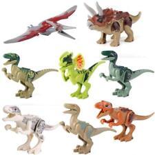 Dinosaur Rex Tyrannosaurus Jurassic World Park 8 Minifigures Building Brick LEGO