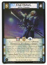 Doji Hoturi, Seven Thunder Exp 2CW NM/M L5R Siege: Clan War