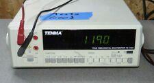 Tenma 72 410a Digital Multimeter Working