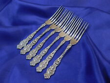 WALLACE IRIAN STERLING SILVER STRAWBERRY FORK - EXCELLENT CONDITION