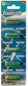 EUNICELL 5 piles 23A  - MN21 A23 LRV08 - 12V Alcaline