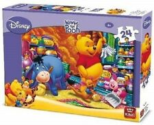 24 Pièce Disney Jigsaw Puzzle Winnie the Pooh & Friends Spring Cleaning 05244 A